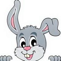 图片卡通头像_兔子卡通qq表情图片_可爱萌扣日一下兔子包头像图片
