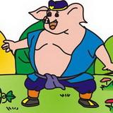 卡通猪八戒