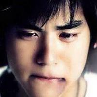 男人不哭男人的眼泪头像图片19