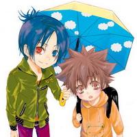 打伞伤感男生下雨打伞兄弟情头像图片15
