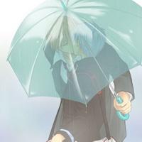 打伞伤感男生下雨打伞兄弟情头像图片35