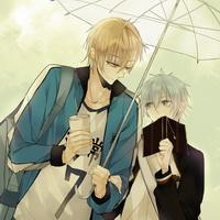 打伞伤感男生下雨打伞兄弟情头像图片37