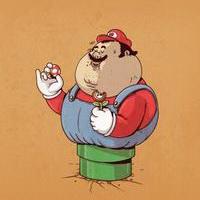 胖子搞笑帅男胖头像图片24