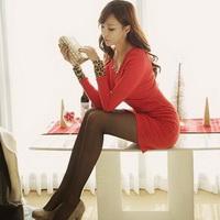 长腿美女性感长腿丝袜女生头像图片12