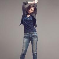 长腿美女性感长腿丝袜女生头像图片24