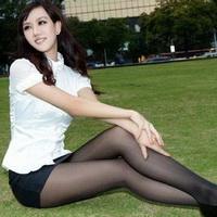 长腿美女性感长腿丝袜女生头像图片42