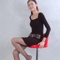 长腿美女性感长腿丝袜女生头像图片47