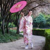 日本和服美女清纯和服少女头像图片12