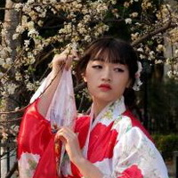 日本和服美女清纯和服少女头像图片14