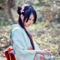 日本和服美女清纯和服少女头像图片21