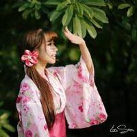 日本和服美女清纯和服少女头像图片31