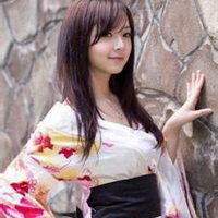 日本和服美女清纯和服少女头像图片35