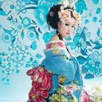 日本和服美女清纯和服少女头像图片49