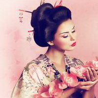 日本和服美女清纯和服少女头像图片51
