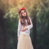森林系女孩儿头像图片1