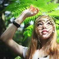 森林系女孩儿头像图片10