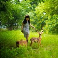 森林系女孩儿头像图片2