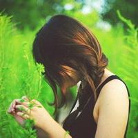 森林系女孩儿头像图片40