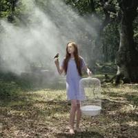 森林系女孩儿头像图片5