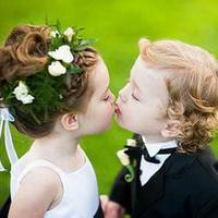 偶尔可爱情侣小孩儿情侣头像图片1