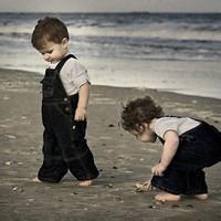偶尔可爱情侣小孩儿情侣头像图片10
