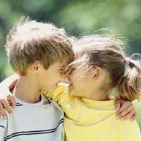 偶尔可爱情侣小孩儿情侣头像图片14