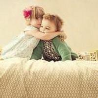 偶尔可爱情侣小孩儿情侣头像图片16