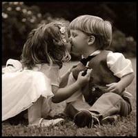 偶尔可爱情侣小孩儿情侣头像图片20