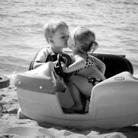 偶尔可爱情侣小孩儿情侣头像图片21