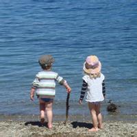 偶尔可爱情侣小孩儿情侣头像图片22