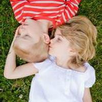 偶尔可爱情侣小孩儿情侣头像图片25