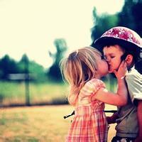偶尔可爱情侣小孩儿情侣头像图片26