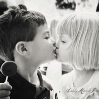 偶尔可爱情侣小孩儿情侣头像图片28