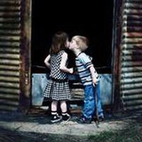 偶尔可爱情侣小孩儿情侣头像图片29