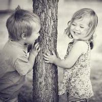 偶尔可爱情侣小孩儿情侣头像图片3