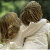 偶尔可爱情侣小孩儿情侣头像图片31