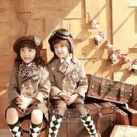 偶尔可爱情侣小孩儿情侣头像图片4