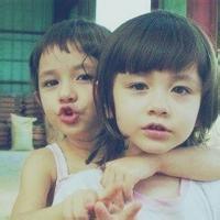 偶尔可爱情侣小孩儿情侣头像图片7