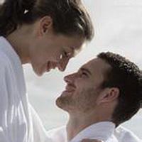 情侣深情对视凝望头像图片10