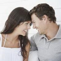 情侣深情对视凝望头像图片11