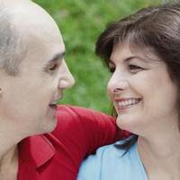 情侣深情对视凝望头像图片5