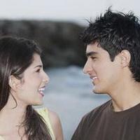 情侣深情对视凝望头像图片8