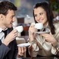 喝咖啡情侣唯美头像图片17