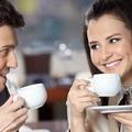 喝咖啡情侣唯美头像图片23