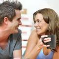 喝咖啡情侣唯美头像图片31