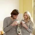 喝咖啡情侣唯美头像图片5
