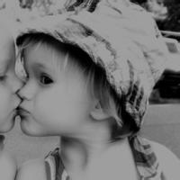可爱萌娃情侣一对头像图片8