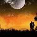 浪漫星空情侣唯美头像图片10