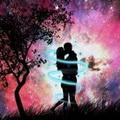 浪漫星空情侣唯美头像图片14