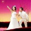 浪漫星空情侣唯美头像图片21